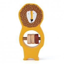 Hochet en bois - Mr. lion