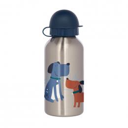Gourde en inox - 400 ml - Bleu