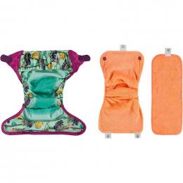 Couche lavable Pop-In V2 avec insert en bambou - Paresseux