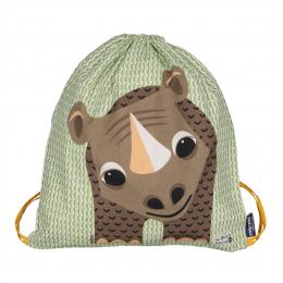 Sac d'activités enfant en coton BIO - Bébé rhino