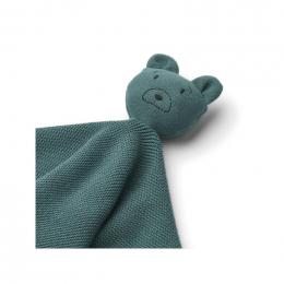 Doudou Milo - Mr bear whale blue
