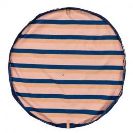 Sac de rangement/tapis de jeu Outdoor - Mokka Stripes