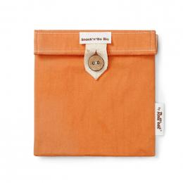Pochette casse-croûtes lavable et réutilisable Snack'n'Go BIO - Orange