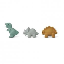 Set de 3 jouets de bain David - Dino blue multi mix